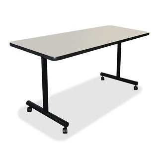 Lorell 24x48-inch Light Grey Training Table Top