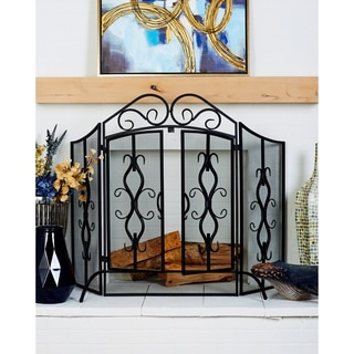 Classic Spark Fireplace Screen