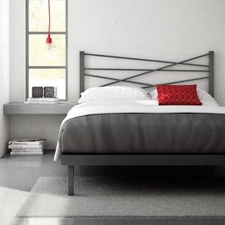 Amisco 54-inch Crosston Full Size Metal Platform Bed
