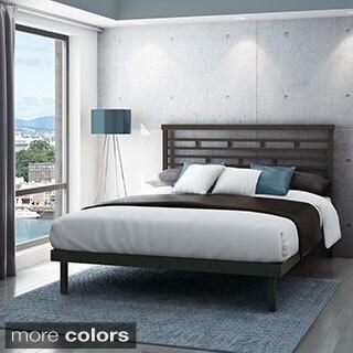 Amisco Highway Queen Size Metal Platform Bed 60-inch
