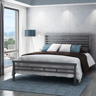 Amisco 60-inch Highway Queen Size Metal Bed