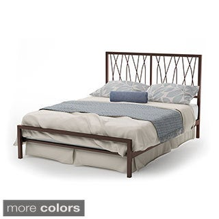 Amisco Ivy 60-inch Queen-size Metal Bed