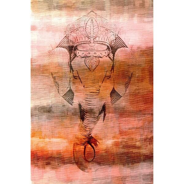Kharagpur Fine Art Canvas Print 14269742