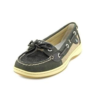 Sperry Top Sider Women's 'Angelfish Sparkle Suede' Leather Casual Shoes