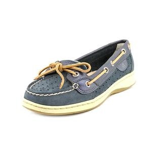 Sperry Top Sider Women's 'Angelfish Perfed Stripe' Leather Casual Shoes