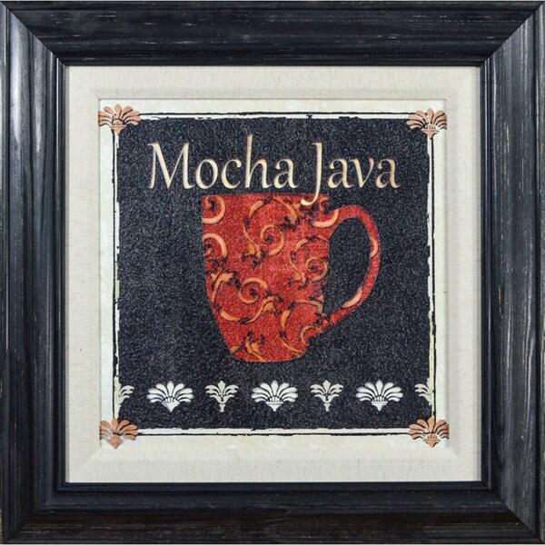 Karen J. Williams 'Mocha Java' Framed Print