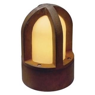 SLV Lighting Rusty Cone Bollard Fixture