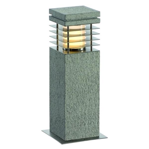 SLV Lighting Arrock Granite 40 Bollard Fixture