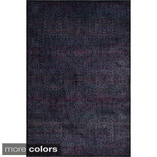 Skye Monet Multi Arabesque Rug (3'9 x 5'2)