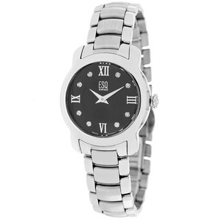 ESQ Movado Women's 7101204 Verona Balck Dial Watch