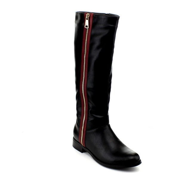 Reneeze Berry-05 Women's Knee-High Riding Boots
