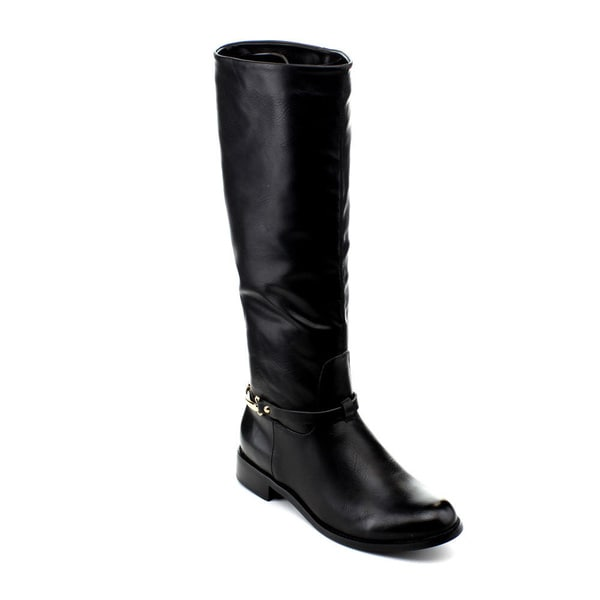 Reneeze Berry-04 Women's Knee-High Riding Boots