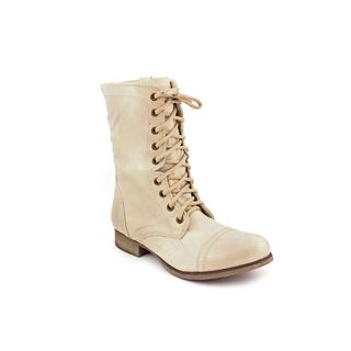 Steve Madden Women's 'Troopa' Distressed Leather Boots