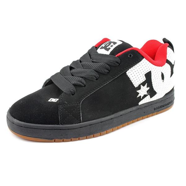 DC Men's 'Court Graffik' Nubuck Athletic Shoe