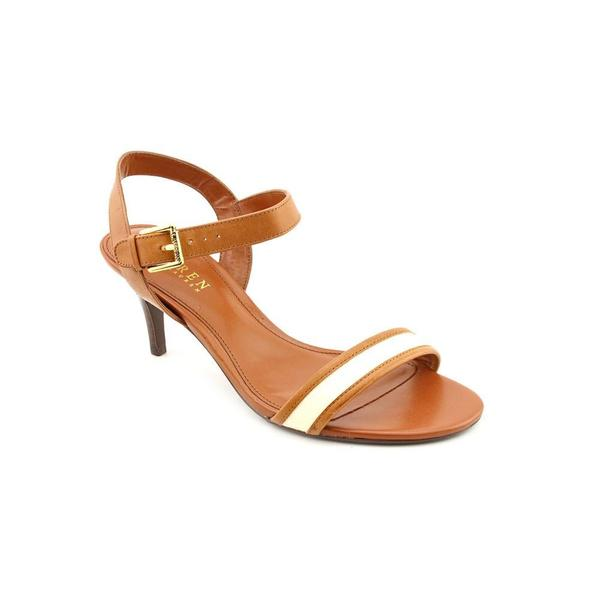 Lauren Ralph Lauren Women's 'Nyla' Leather Sandals