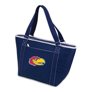 Picnic Time Topanga Kansas Jayhawks Embroidered Navy