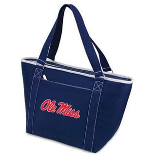 Picnic Time Topanga Mississippi Rebels Embroidered Navy