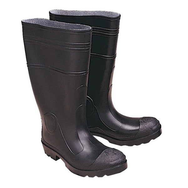 Stansport Men's Black Waterproof Knee Boots