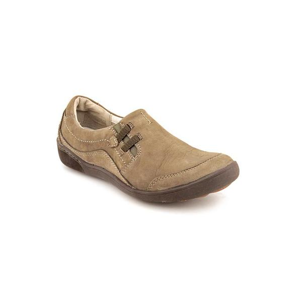Privo By Clarks Women's 'Cafe Latte' Regular Suede Casual Shoes (Size 9 )