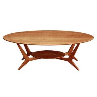 Wood Revival Mid Century Coffee Table