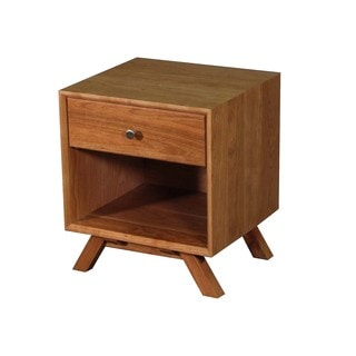 Wood Revival Modern Nightstand