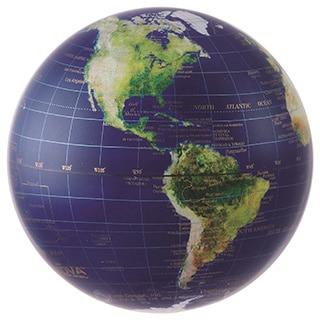 Satellite Gold Earth 4.5-inch Solar Powered MOVA World Globe
