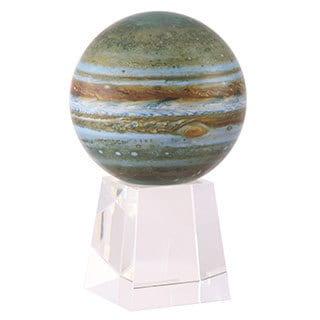 Crystal Base 6-inch Jupiter Solar Powered MOVA Globe