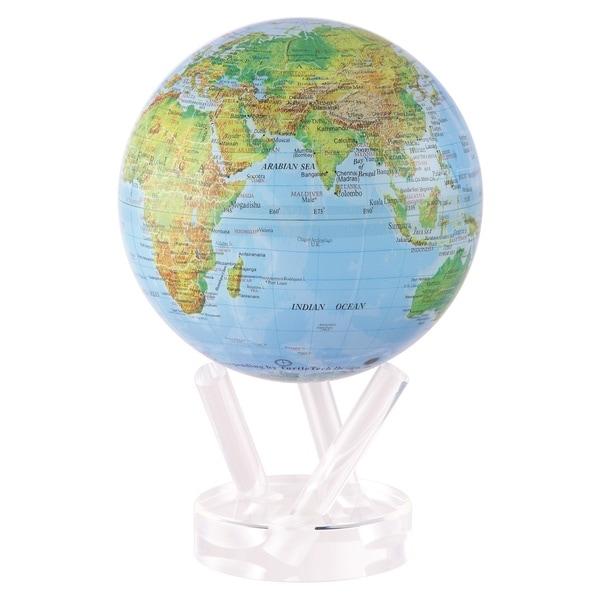 Blue Ocean Relief Solar Powered MOVA World Globe 14278137