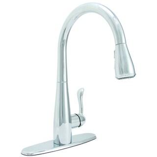 Premier Sanibel Lead-free Single-handle Pull-down Chrome Kitchen Faucet