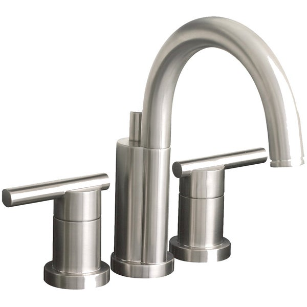 Premier Essen Lead-free Mini-widespread Double-handle Brushed Nickel Bathroom/ Lavatory Faucet