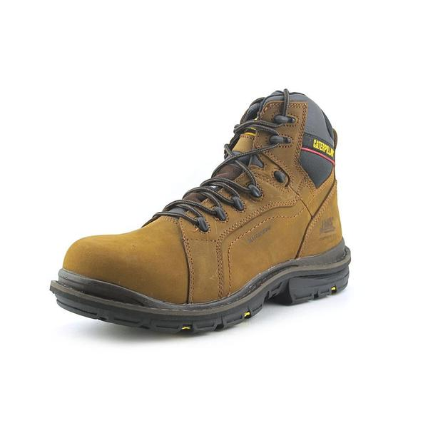 Caterpillar Men's 'Akron WP CT' Leather Boots - Wide (Size 10.5 )