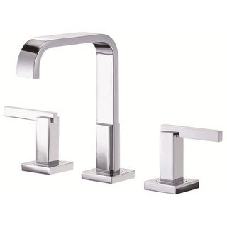 Danze Widespread Sirius Trimline Polished Chrome Faucet with Touch-down Drain