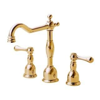 Danze Widespread Opulence Polished Brass Faucet
