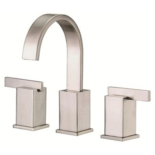 Danze Widespread Sirius Brushed Nickel Faucet with Touch-down Drain
