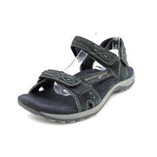Earth Origins Women's 'Barkley' Regular Suede Sandals - Wide