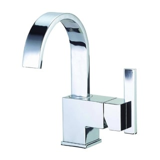 Danze Centerset Sirius Faucet with Touch-down Drain in Polished Chrome