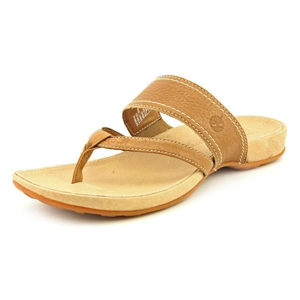 Timberland Earthkeepers Women's 'Lola Bay Thong' Leather Sandals