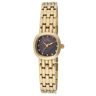 Lucien Piccard Women's LP-12012-YG-01MOP Tiede Black Mother of Pearl Watch