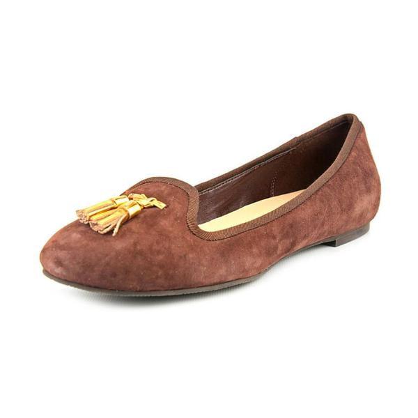 Cole Haan Women's 'Morgan Slpr Tassl II' Regular Suede Casual Shoes