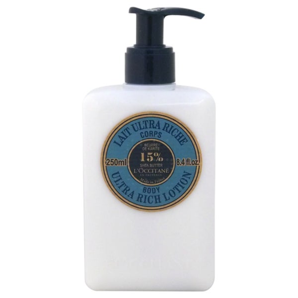 L'Occitane Shea Butter Ultra Rich 8.4-ounce Body Lotion