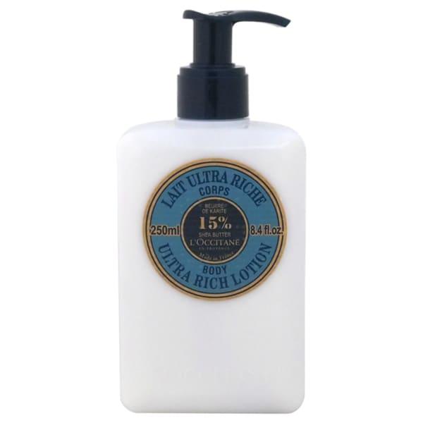 L'Occitane Shea Butter Ultra Rich 8.4-ounce Body Lotion
