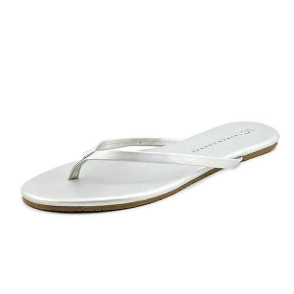 Famous Name Brand Women's 'Valencia' Man-Made Sandals