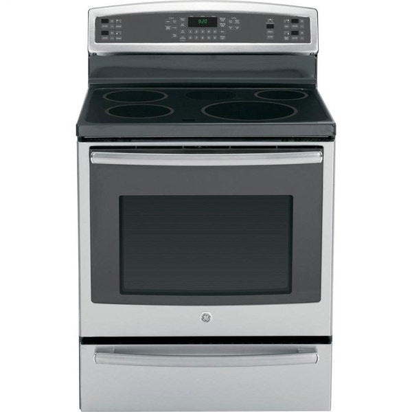 "GE 30"" Freestanding Stainless Steel Induction Range"