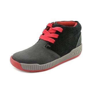 Clarks Boy (Youth) 'Zander Boy Toddler ' Leather Boots