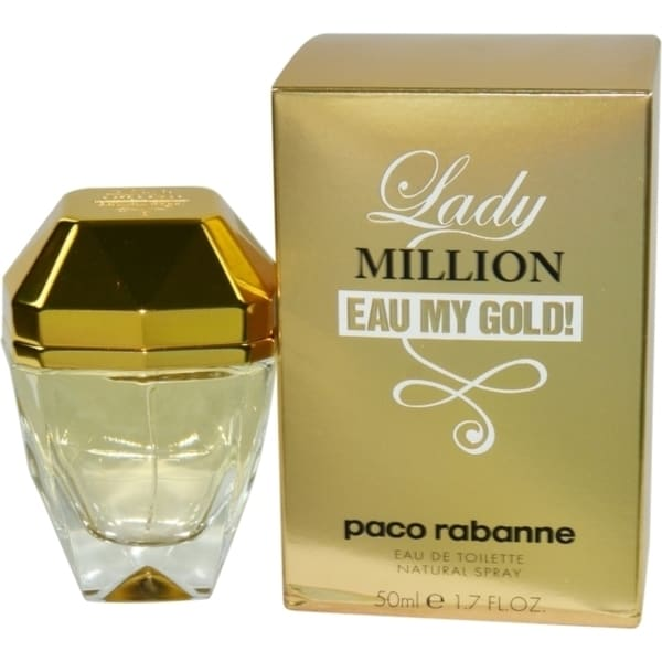 Paco Rabanne Lady Million Eau My Gold! Women's 1.7-ounce Eau de Toilette Spray