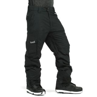 Marker Men's POP Cargo Insulated Black Ski Pants