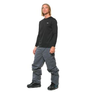 Pulse Men's Charcoal Insulated Tech Snow Pants
