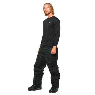 Pulse Men's Black Insulated Tech Snow Pants