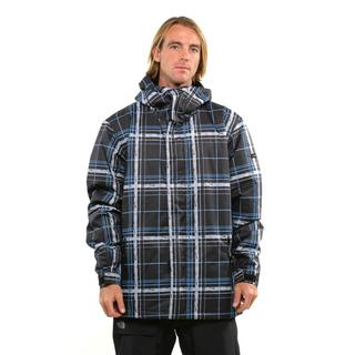 Quicksilver Men's Grid Black Snow Jacket