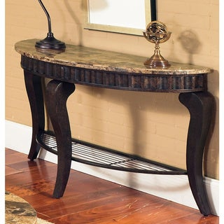 Helena Marble Top Sofa Table